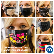 Load image into Gallery viewer, Fashion filters for MASKSEALZ OG Silicone Mask