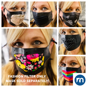 Fashion filters for MASKSEALZ OG Silicone Mask