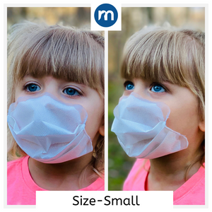 Masksealz LITE- STRAPLESS self-adhering, re-usable, face cover!