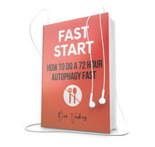 Load image into Gallery viewer, How Do Do A 72 Hour Autophagy Intermittent Fast Book Audiobook Guide For Download By Dan Vadnais