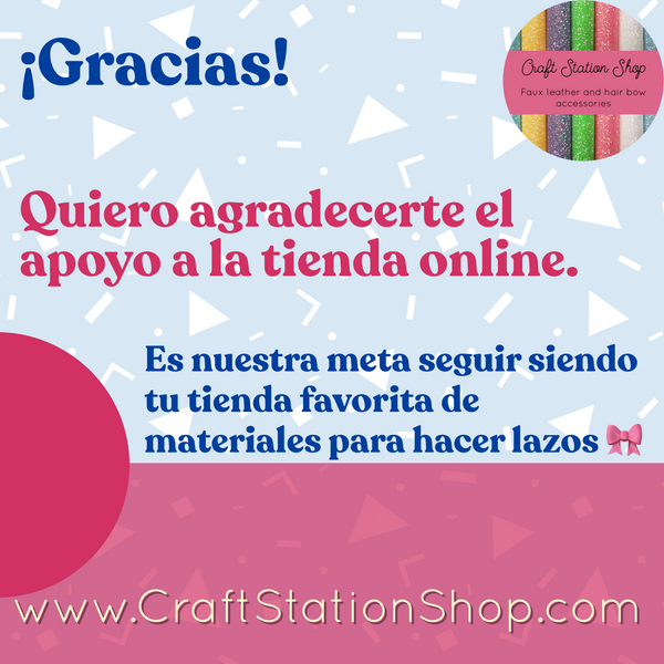 Reviews / Clientas contentas en Craft Station Shop