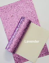 Load image into Gallery viewer, Glitter Faux Leather - Craft Station Shop