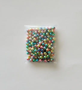 Filler for shakers - Multicolor Pearls ( No hole )