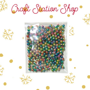 Filler for shakers - Multicolor Mini Pearls