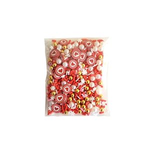 Filler for shakers - Sprinkles - Pearls - Hearts
