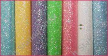 Load image into Gallery viewer, Crystal Chunky Glitter Faux Leather - Craft Station Shop