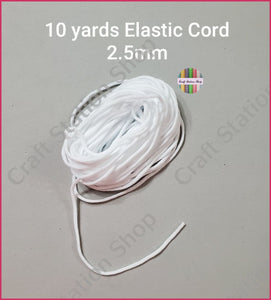 Elastic cord / Cordón Elástico - Craft Station Shop