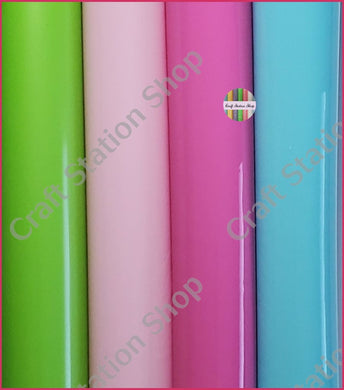 Glossy PVC Solid Colors - Craft Station Shop
