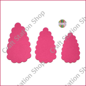 Hair Clip 01 Template  / Plantilla para trazar Clip - Craft Station Shop