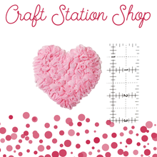 Load image into Gallery viewer, Shabby Heart Applique - Craft Station Shop