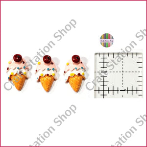 Resin 108 ice cream / mantecado - Craft Station Shop