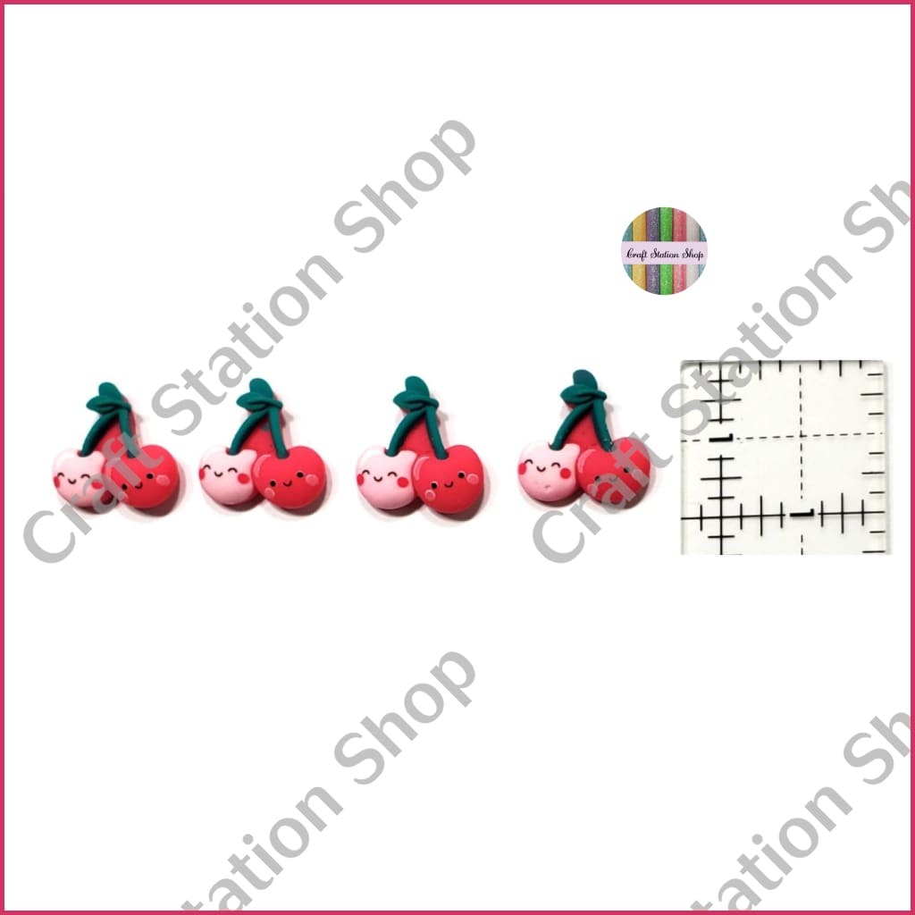 Resin 120 Cherries / Cerezas - Craft Station Shop
