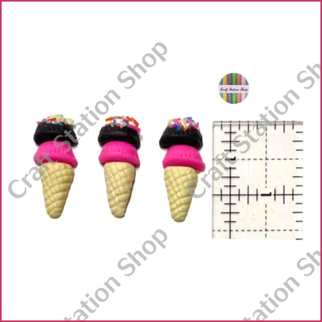 Resin 138 Ice cream con Barquilla de Mantecado - Craft Station Shop