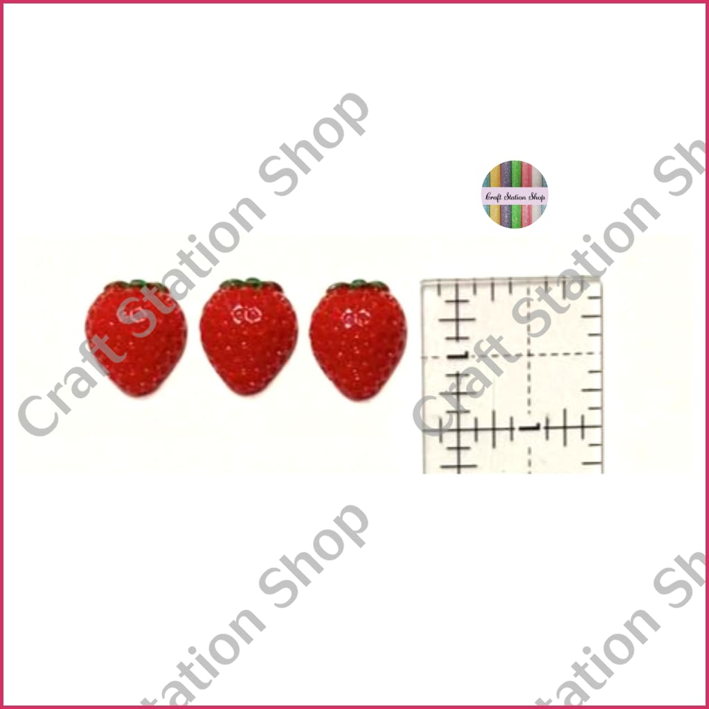 Resin 151  Strawberry / Fresas - Craft Station Shop