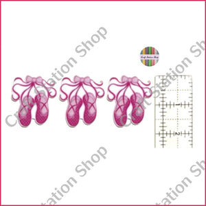 Resin 166  Baller Slippers / Zapatillas de Ballet - Craft Station Shop