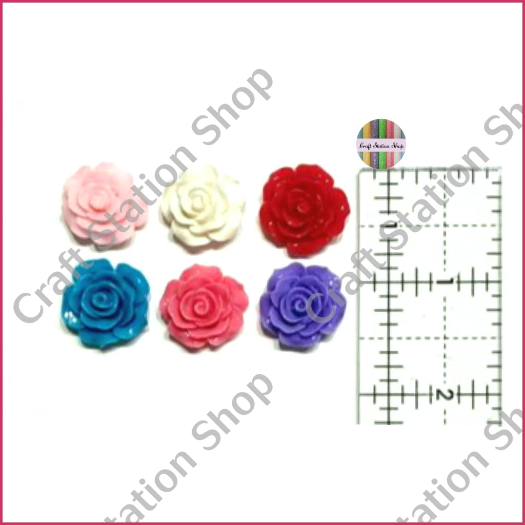 Resin 222 Flowers Multicolor/ Flores Multicolor - Craft Station Shop