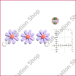 Resin 230 Lavender Daisy Flower - Craft Station Shop