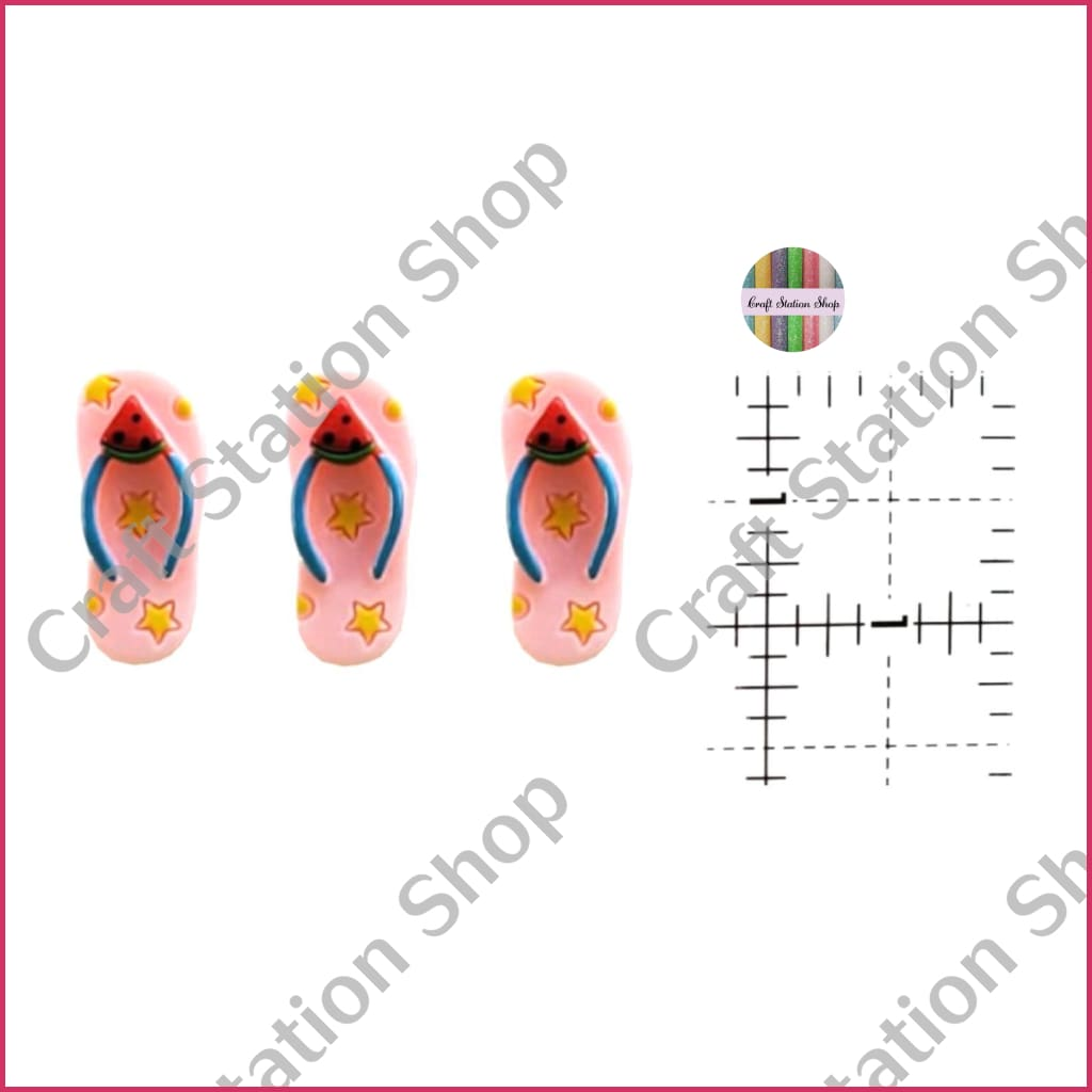 Resin 400 Flip Flops / Chanclas