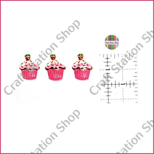 Resin 50 cupcakes - Craft Station Shop