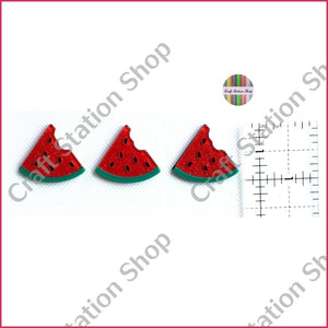 Resin 74 Red Watermelon/ melón rojo - Craft Station Shop