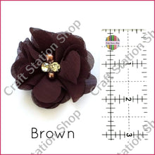 Load image into Gallery viewer, Small Flower With Rhinestone And Pearl