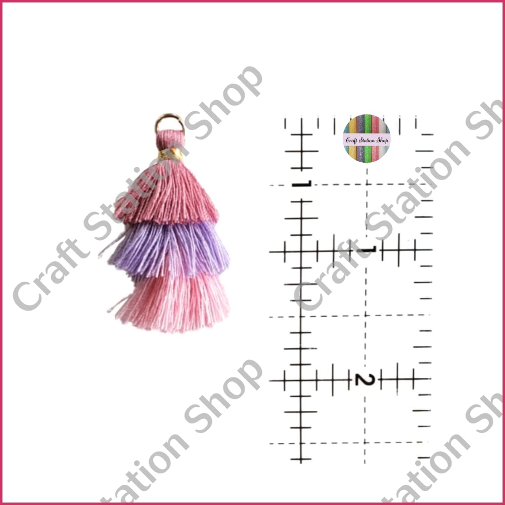 Tassel Accesory Rose/lilac/pink