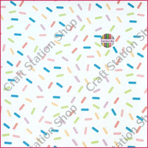 Tropical 68 Faux Leather Sheet Big Sprinkles