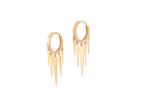 Long Spike Hoops