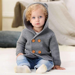 baby bear hooded sweater