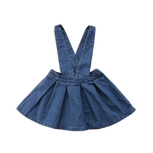 Dress - Denim Overall Dress