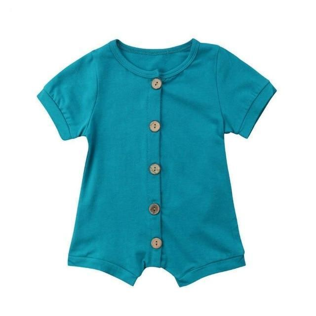 Romper - Happiest Baby Button Romper