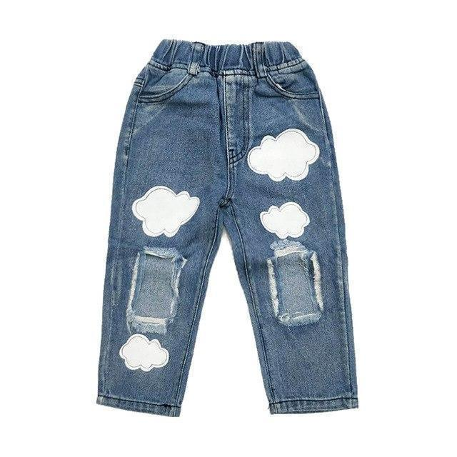 Pants - Head In The Clouds Denim Pants