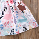 Dress - Hey Little Bunny Skirted Overall Set