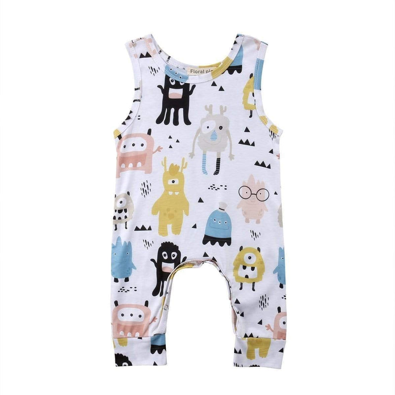 Hey Little Monster Romper