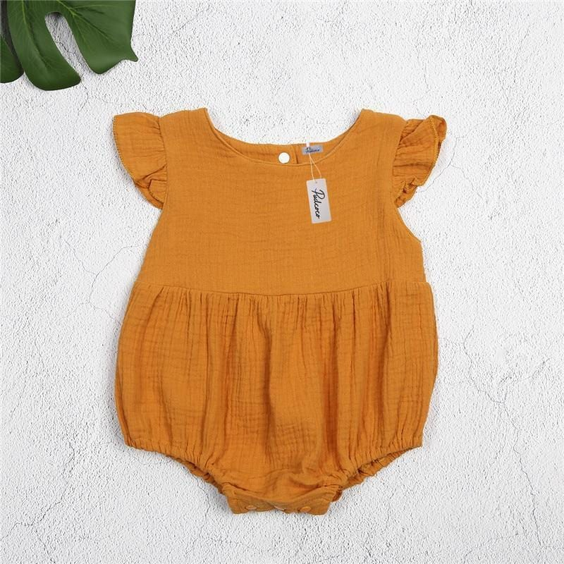 Romper - Hey Little Pumpkin Romper