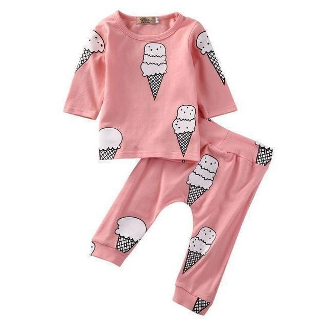 Ice Cream Days Sweat Set