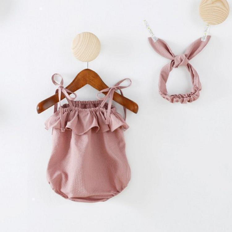 Set - Isla Romper And Headband Set