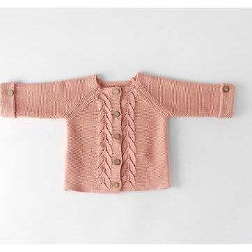 Sweater - Lucy Cardigan Rose