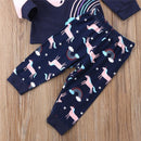 Magical Unicorn Dreams Pajama Set