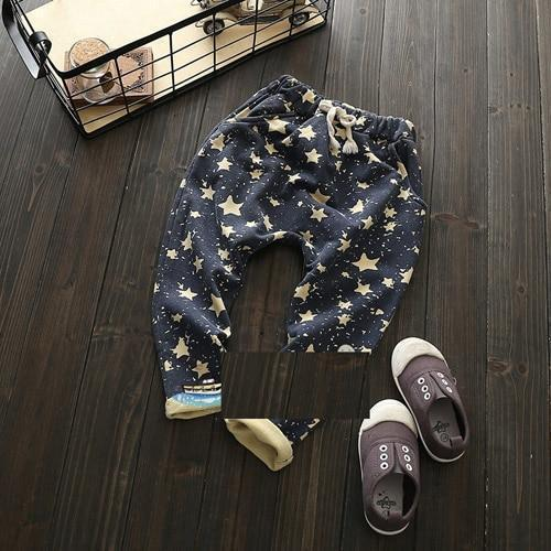 Pants - Navy Star Harem Pant