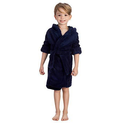 Girl's Boy's Hooded Dressing Gown