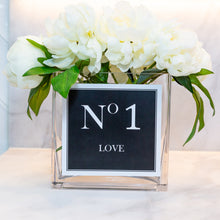 Load image into Gallery viewer, LOVE COLLECTION VASE - Black & White No 1 Love