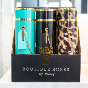 LUXE WINE BOX COLLECTION - The Chantel Turquoise