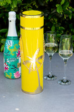 Load image into Gallery viewer, LUXE WINE BOX COLLECTION -  The Millie Yellow with Gold Palm