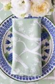 Garden Party Sage Napkins - Set 4