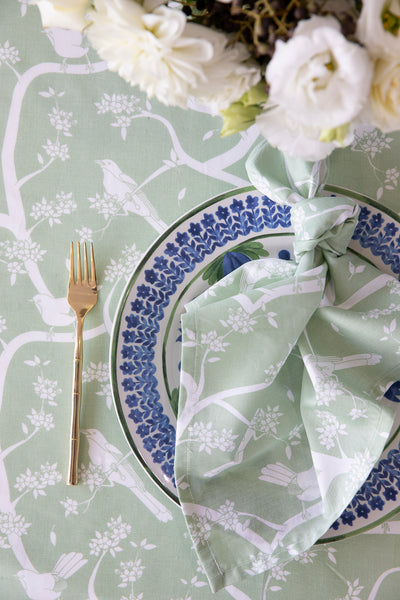 Garden Party Sage 180cm x 300cm Tablecloth