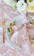 Garden Party Rose Napkins - Set 4
