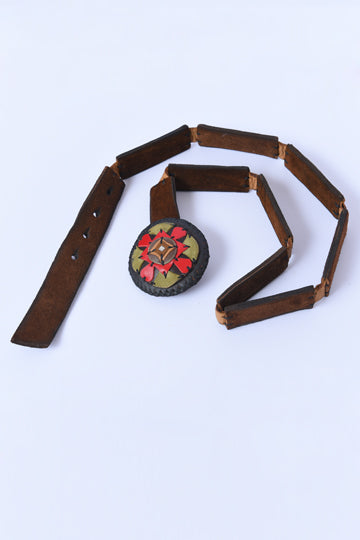 Leather Belt - MIRAYJEWELRY