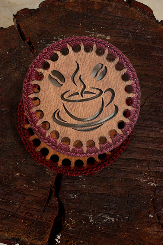 Coffee drink coaster