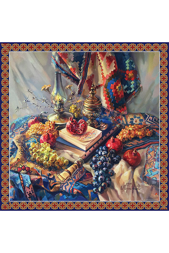 Still Life with a Blue Carpet - MIRAYJEWELRY